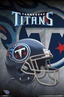 Tennessee Titans Helmet NFL Poster