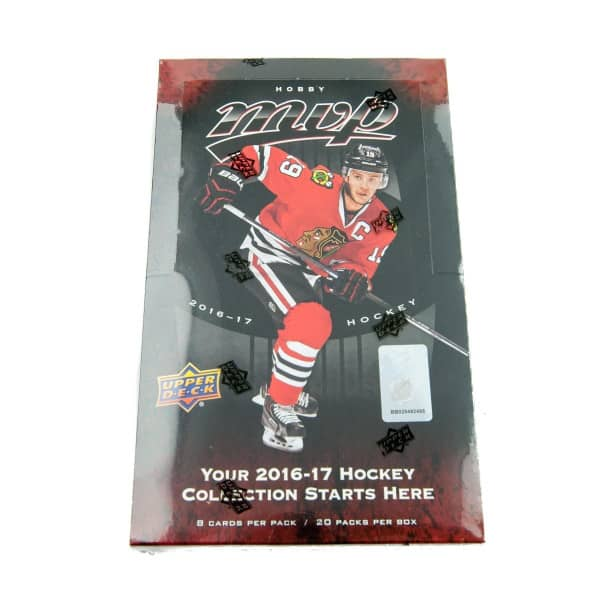 2016/17 Upper Deck MVP Hockey Hobby Box NHL