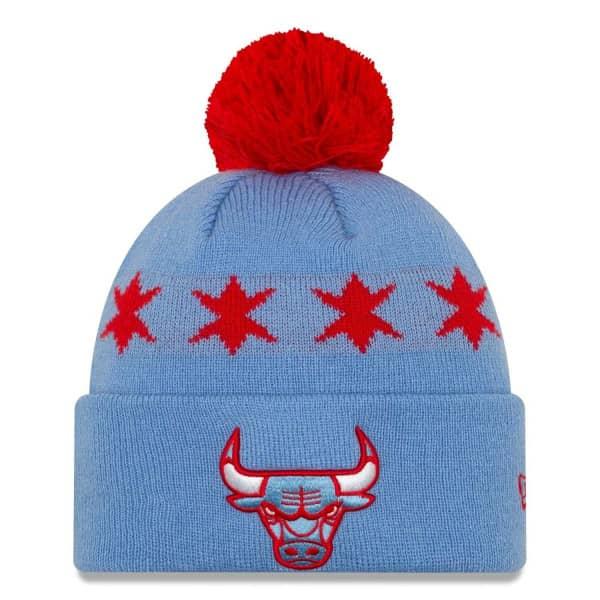 Chicago Bulls 2019 City Series NBA Pudelmütze