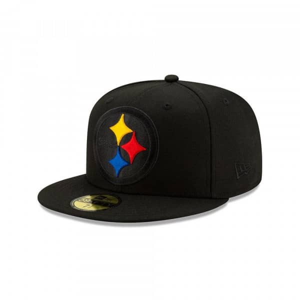 Pittsburgh Steelers 2.0 Logo Elements New Era 59FIFTY Fitted NFL Cap