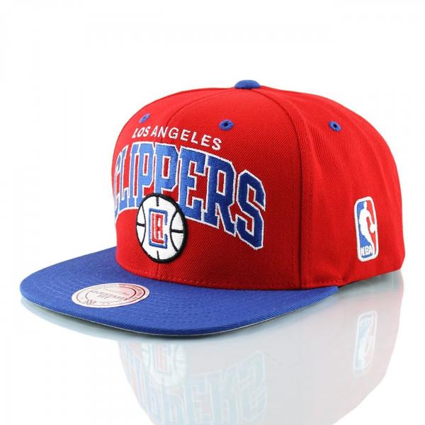 Los Angeles Clippers Team Arch Snapback NBA Cap Current