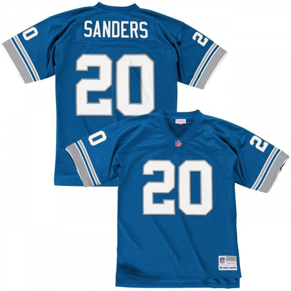 Barry Sanders #20 Detroit Lions Legacy Throwback NFL Trikot