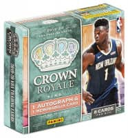 2019/20 Panini Crown Royale Basketball Hobby Box NBA