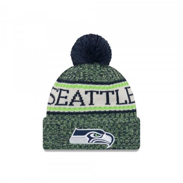 Seattle Seahawks 2018 Sideline Sport Knit NFL Wintermütze