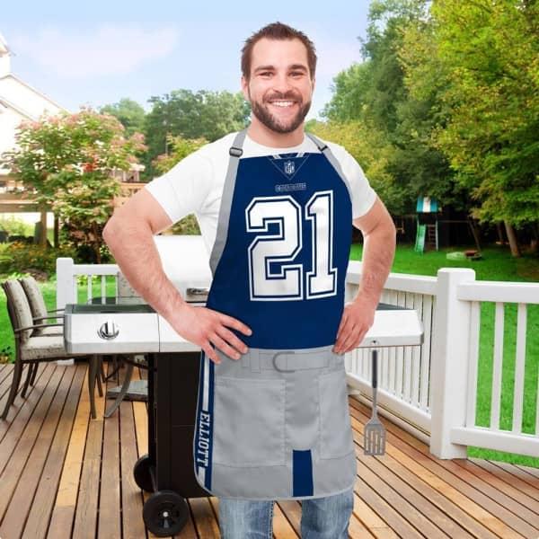 Ezekiel Elliott #21 Dallas Cowboys NFL Spielerschürze
