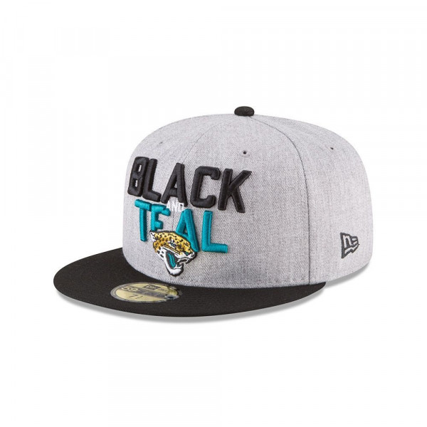 Jacksonville Jaguars 2018 NFL Draft 59FIFTY Fitted Cap