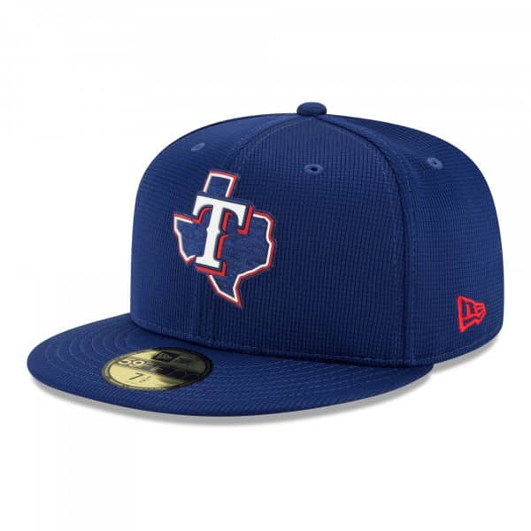 Texas Rangers 2021 MLB Authentic Clubhouse New Era 59FIFTY Fitted Cap