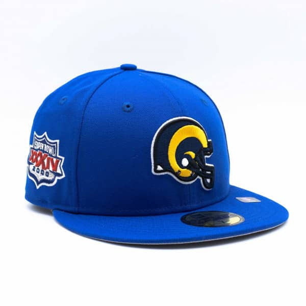 St. Louis Rams Super Bowl XXXIV New Era 59FIFTY Fitted NFL Cap