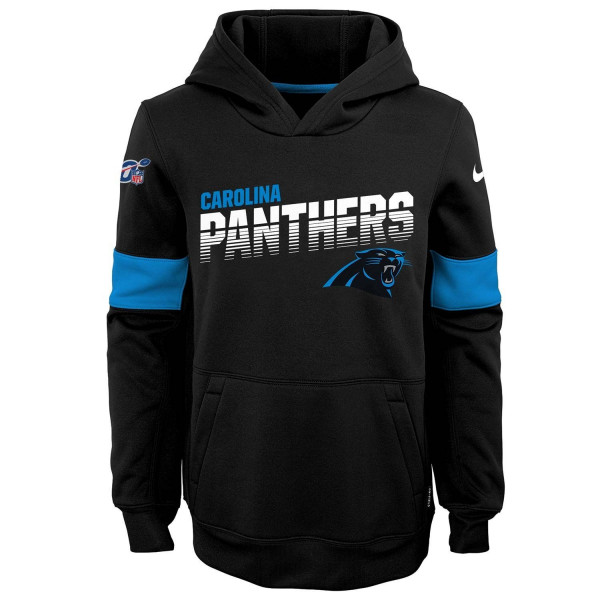 Carolina Panthers 2019 NFL Sideline Therma Hoodie (KINDER)