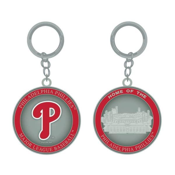 Philadelphia Phillies Stadium MLB Schlüsselanhänger