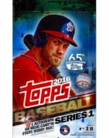 2016 Topps Series 1 Baseball Hobby Box MLB