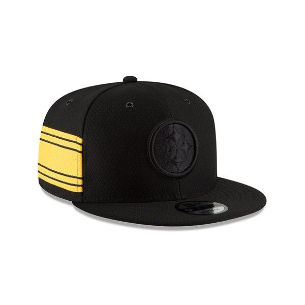 on sale b0064 17bc8 New Era Pittsburgh Steelers 2018 Color Rush 9FIFTY NFL Snapback Cap    TAASS.com Fan Shop