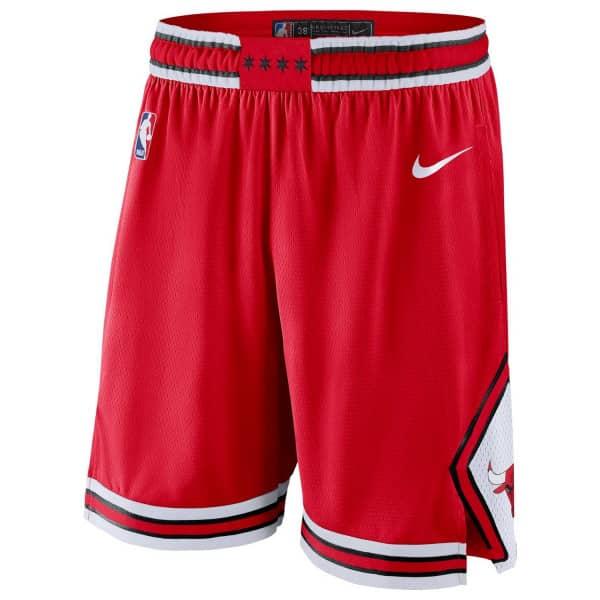 Chicago Bulls Icon Swingman NBA Shorts Rot