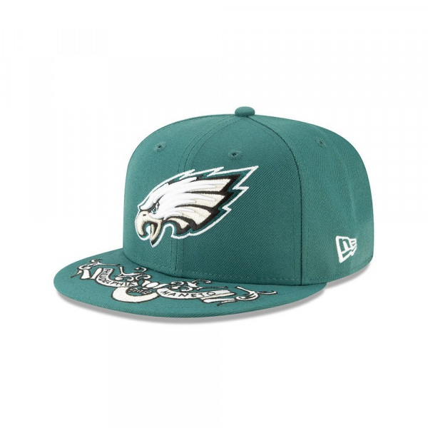 Philadelphia Eagles 2019 NFL Draft On-Stage 59FIFTY Fitted Cap