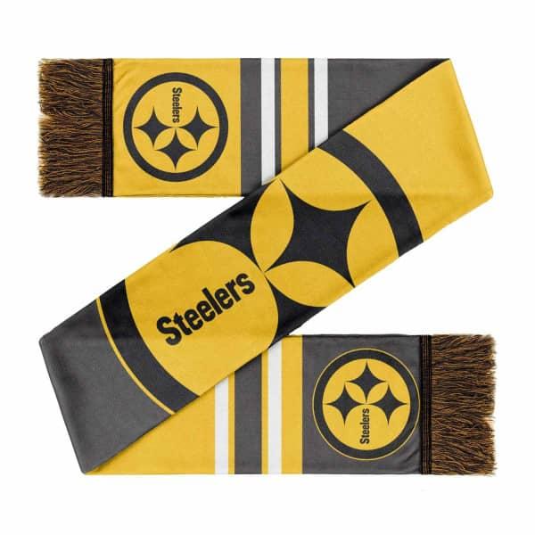 Pittsburgh Steelers Colorblock Big Logo NFL Schal