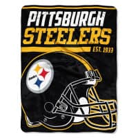 Pittsburgh Steelers Super Plush NFL Decke