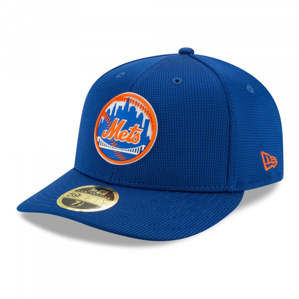 New York Mets 2021 MLB Authentic Clubhouse New Era Low Profile 59FIFTY Cap