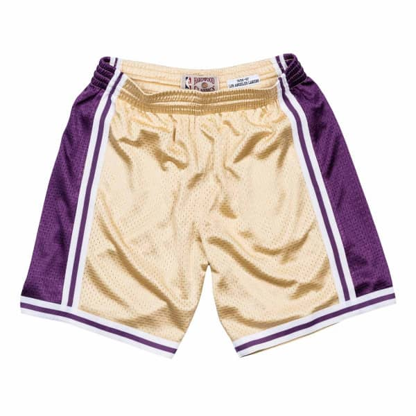 f81c498fd051 Mitchell   Ness Los Angeles Lakers 1996-97 Gold Collection NBA Shorts