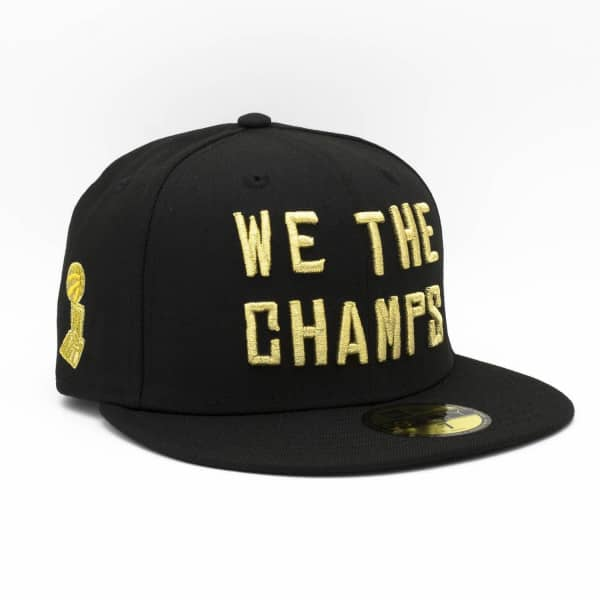 Toronto Raptors 2019 WE THE CHAMPS 59FIFTY Fitted NBA Cap Schwarz