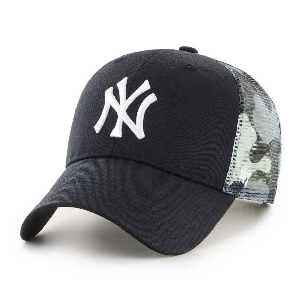 New York Yankees White Camo Back Switch '47 MVP MLB Trucker Cap