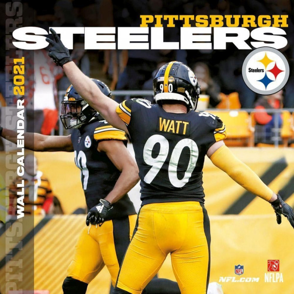 Pittsburgh Steelers 2021 Team NFL Wandkalender