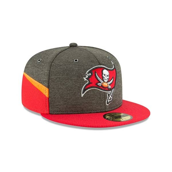 Tampa Bay Buccaneers 2018 NFL Sideline 59FIFTY Fitted Cap Home
