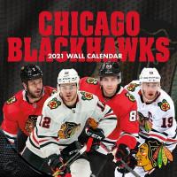 Chicago Blackhawks 2021 Team NHL Wandkalender