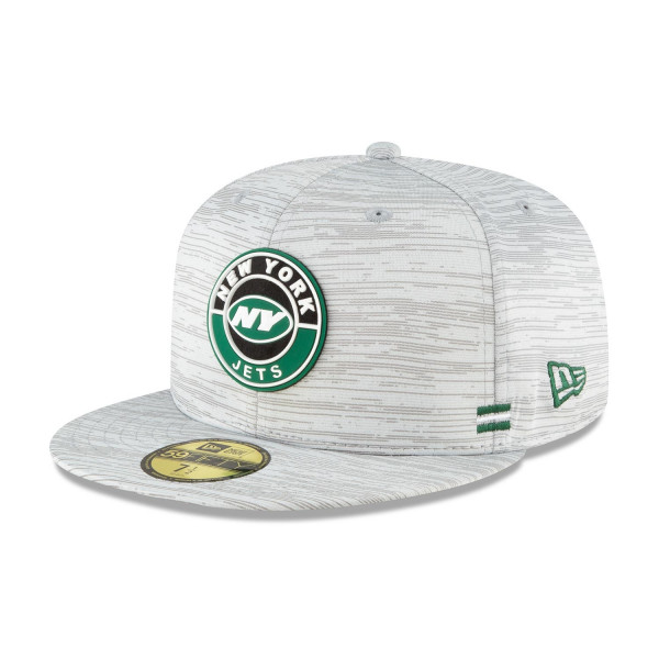 New York Jets Official 2020 NFL Sideline New Era 59FIFTY Fitted Cap Road