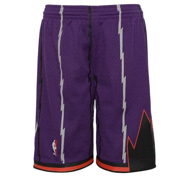 Toronto Raptors 1998-99 Youth Swingman NBA Shorts Lila (KINDER)