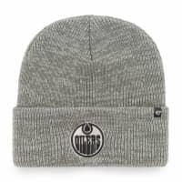 Edmonton Oilers '47 Brain Freeze Beanie NHL Wintermütze Grau