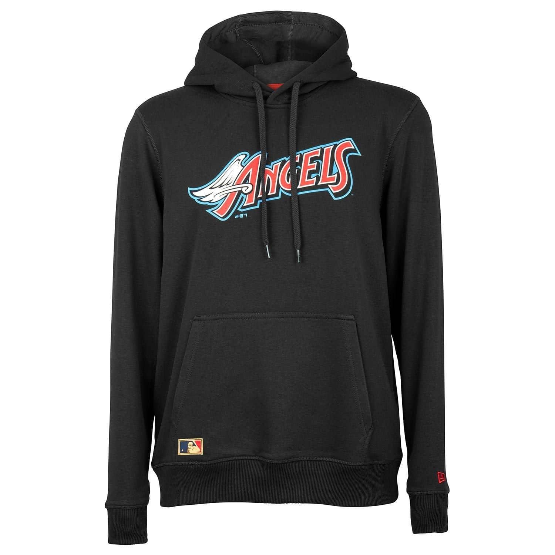 detailed look 30359 a7299 New Era Anaheim Angels Coast To Coast Hoodie MLB Sweatshirt Schwarz   TAASS.com  Fanshop