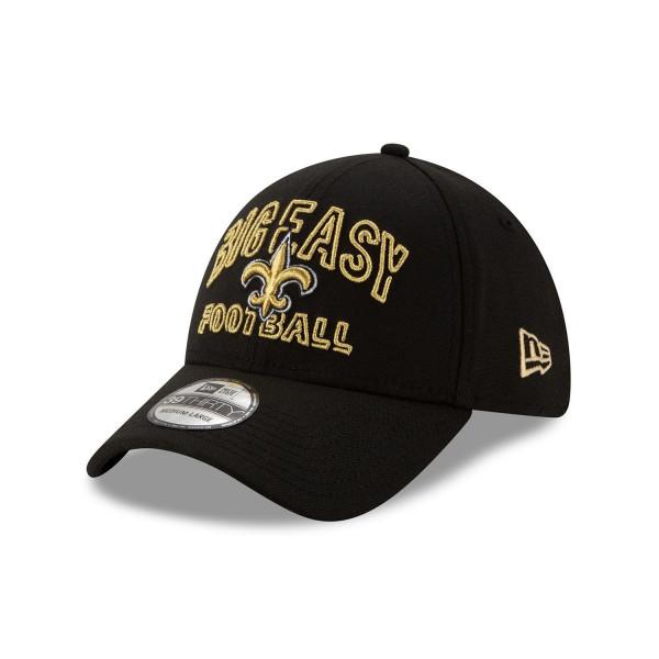 New Orleans Saints 2020 NFL Draft New Era 39THIRTY Flex Fit Cap Alternate