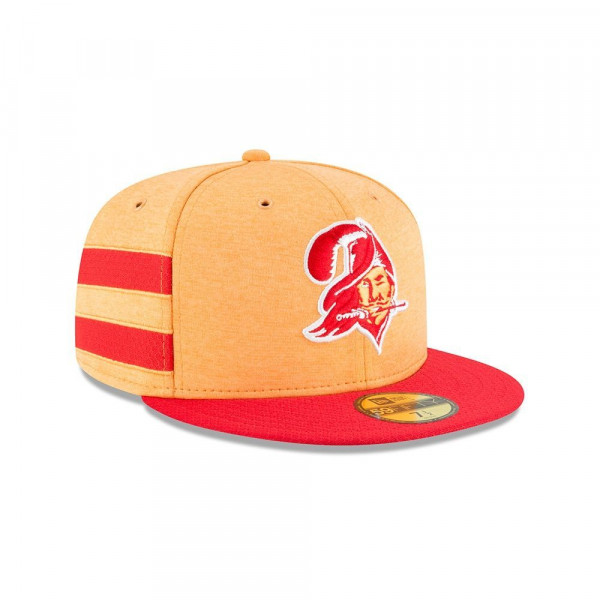 the latest a88b7 da324 New Era Tampa Bay Buccaneers HISTORIC 2018 NFL Sideline 59FIFTY Fitted Cap  Home   TAASS.com Fan Shop