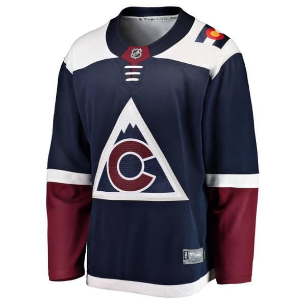 Colorado Avalanche Fanatics Breakaway NHL Trikot Alternate Navy