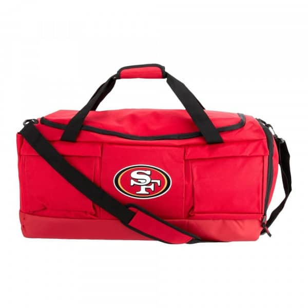 San Francisco 49ers Tonal Duffel FOCO NFL Sporttasche