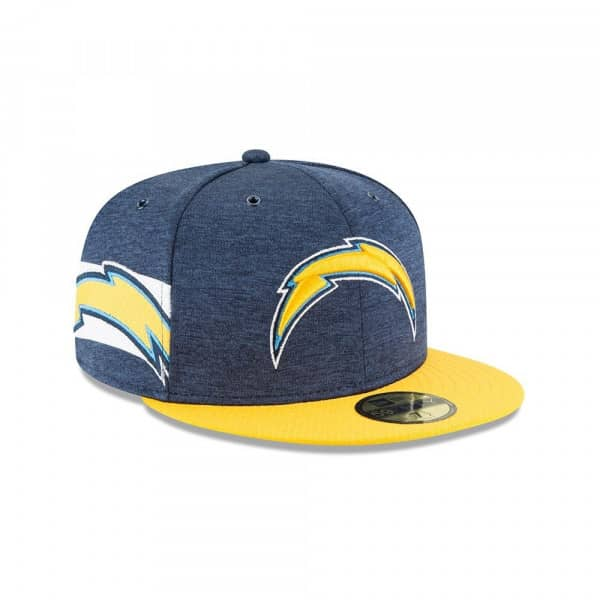 best website 3df19 111ae New Era Los Angeles Chargers 2018 NFL Sideline 59FIFTY Fitted Cap Home    TAASS.com Fan Shop