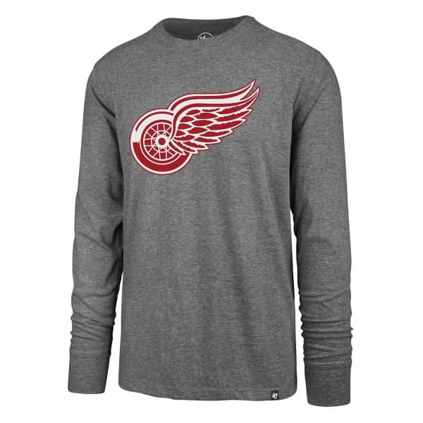 Detroit Red Wings Line Up Club NHL Long Sleeve T-Shirt