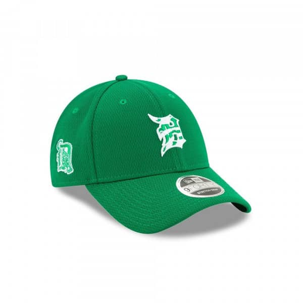 Detroit Tigers 2020 St. Patrick's Day Stretch-Snap 9FORTY MLB Cap