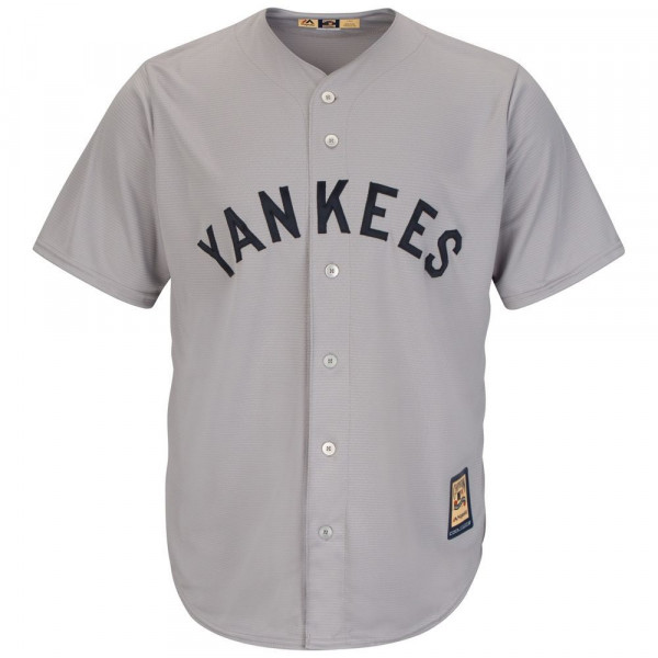 New York Yankees Cooperstown Cool Base MLB Trikot Road