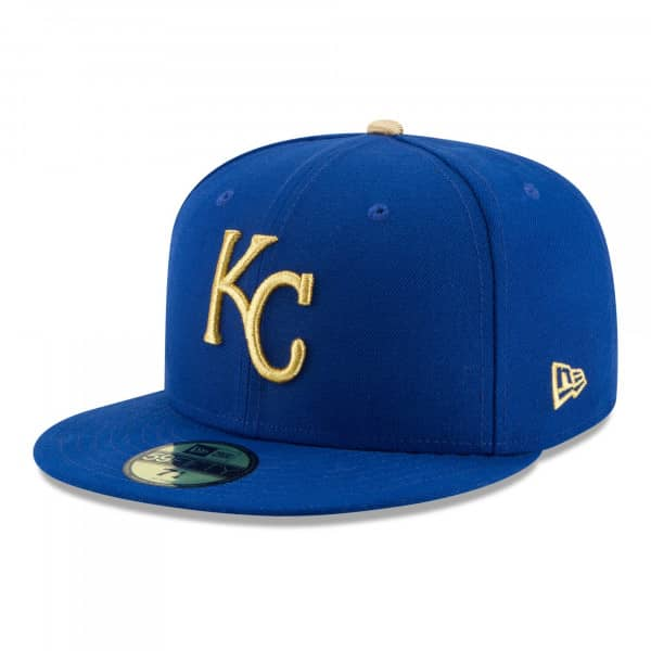 Kansas City Royals Authentic New Era 59FIFTY Fitted MLB Cap Alternate