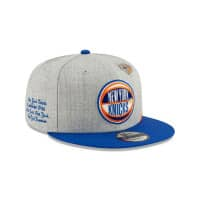 New York Knicks 2019 NBA Draft 9FIFTY Snapback Cap Heather Grey
