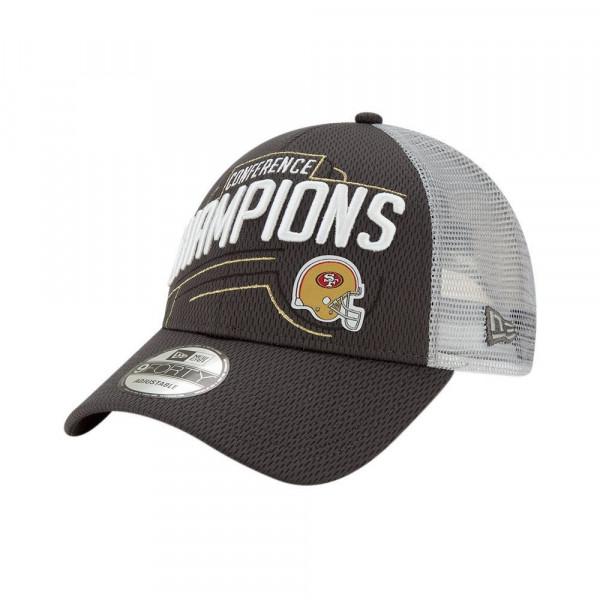 San Francisco 49ers 2019 NFC Champions Locker Room 9FORTY NFL Cap