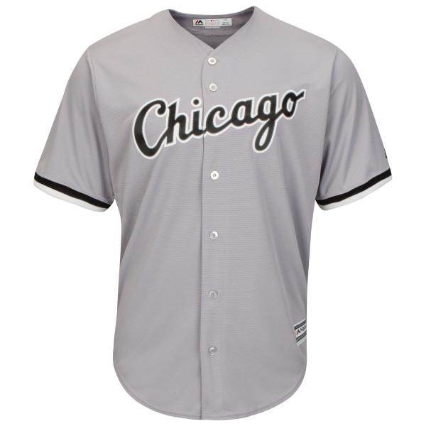 Chicago White Sox Cool Base MLB Trikot Road Grau