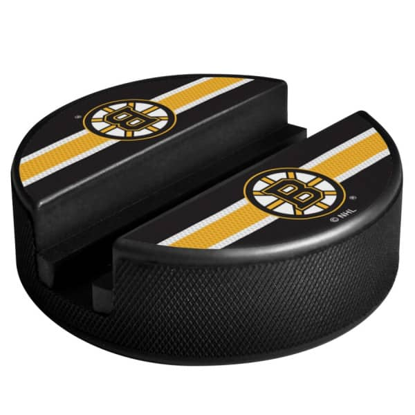 Boston Bruins NHL Puck Media Device Holder