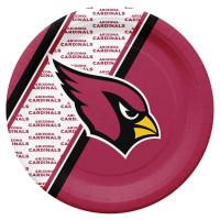Arizona Cardinals Partyware NFL Pappteller Set (20 Stk.)