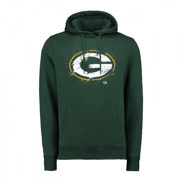 Green Bay Packers Splatter NFL Hoodie