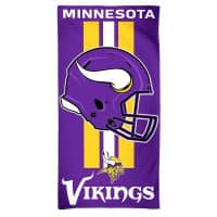 Minnesota Vikings Helmet NFL Strandtuch
