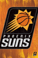 Phoenix Suns Official Team Logo Basektball NBA Poster RP2431