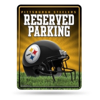 Pittsburgh Steelers Reserved Parking NFL Metallschild