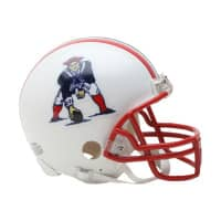 New England Patriots NFL Throwback Mini Helmet (1990-92)